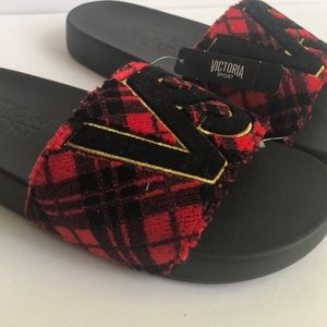 Victoria's Secret Shoes - NWT Victoria Secret Sport Slides